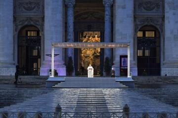Papa na Trgu
